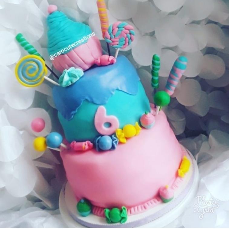 Sweet Shop Cake